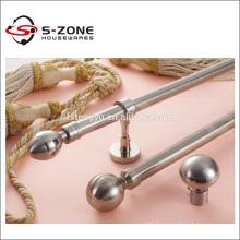 popular style modern decorative fancy metal curtain pole