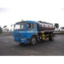 136kw 12000l 4x2 Steel / Aluminum Liquid Tank Truck Storage Isoprene