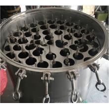 Filtro de água de precisão de aço inoxidável