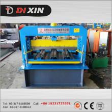 Rolo de deck de metal Hebei dá forma à máquina