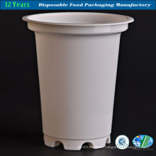 Milky Plastic Cup in White Color