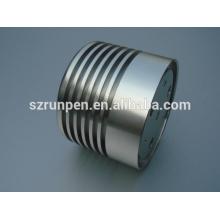 Dissipador de calor de alumínio da lâmpada do diodo emissor de luz da extrusão