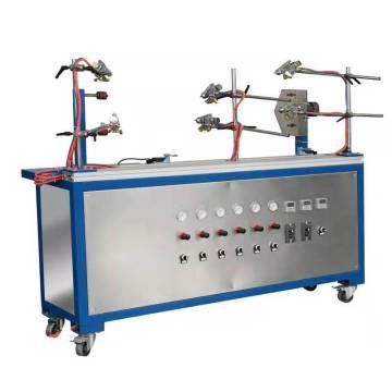 Sistema electrónico de máquina de pintura de tuberías