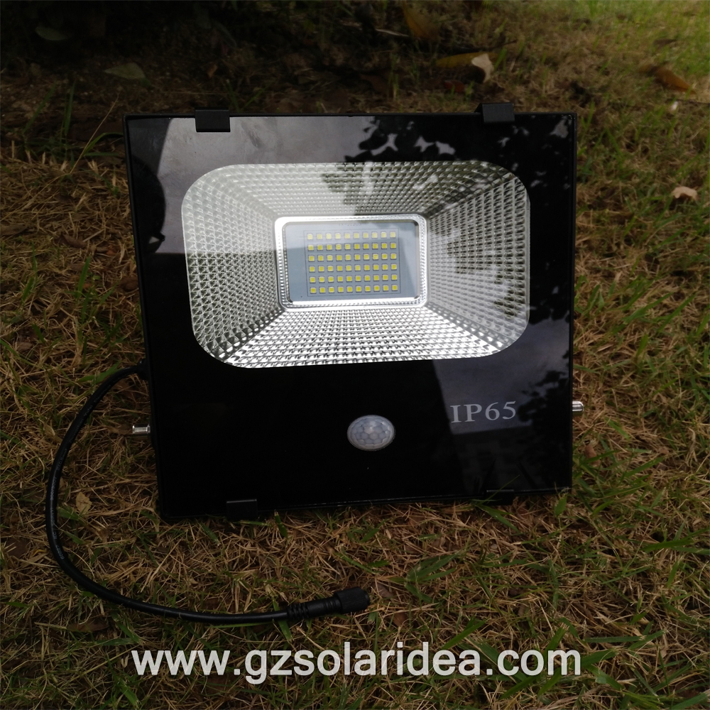 Sensor flood solar light