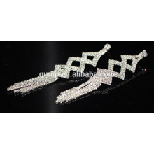 2015 Promotion Fashion Elegant Drop Crystal Stud Earrings