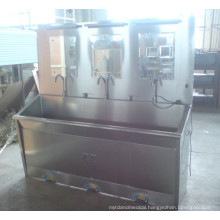 Foot-Control Washing Sink for Three Persons (THR-JMS26)
