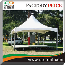 On sale Genie Rain proof PVC Tent 5x5m with raised floor in Park