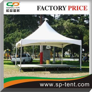 On sale Genie Rain proof PVC Tent 5x5m with raised floor in Park