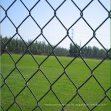 горячая продажа электрическая гальванизированная сетка звена цепи / звена цепи ячеистой сети