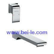 Bathroom Single handle Lavatory Sink Basin Faucet Tap Contemporary