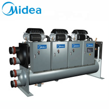 Midea enfriador de agua 600-850kw aire industrial low temp refrigeration system water chiller machine manufacturer