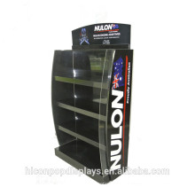 Custom Logo Freestanding Metal Acrylic Automotive Car Lubricating Engine Motor Oil Display Stand