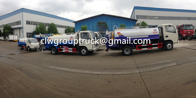 CLW GROUP TRUCK DONGFENG 5CBM Water Tank Truck