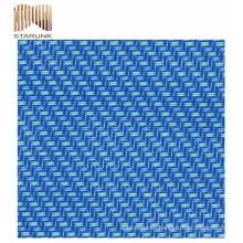 mould proof vinyl air flow 3d spacer mesh fabric