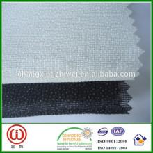 Abrigo de tricot fusible hecho punto 100% poliéster que interlinea W252