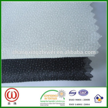 100% polyester knitted fusible tricot coat interlining W252