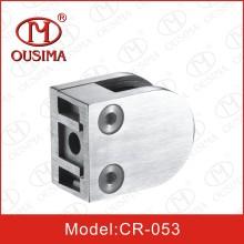 Нержавеющая сталь для литья под давлением Стеклянный зажим для трубы поручня (CR-053)