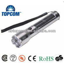 High Power Aluminium Alloy Solar led flashlight