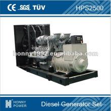 Дизельный генератор мощностью 1800 кВт, HPS2500, 50 Гц