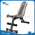 Banco de la abdominales acolchado ajustable declive pendiente Inicio gimnasio peso Press de banca Fitness equipos
