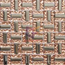 Copper Titanium Glass Mosaic Tiles (TC350)