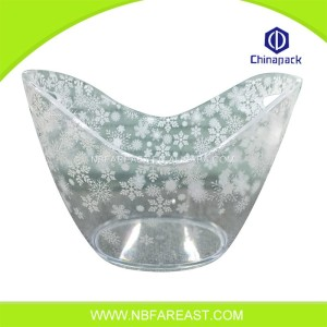 Promotion custom acrylic ice buckets