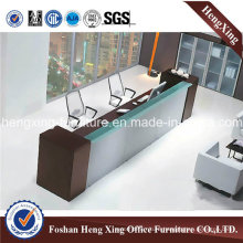 2016 Wooden Office Desk Reception Table Office Furniture (HX-RT801)