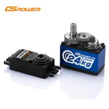 24KG High Stall Torque Digital Coreless Motor Standard Servo for RC Model Car Full Metal servo motor