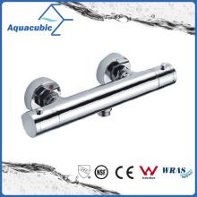 Bathroom Shower Brass Chromed Anti-Scald Thermostatic Tap (AF4220-7)
