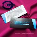 Tissu 100% coolpass à séchage rapide pour vêtements de sport, vêtements de sport