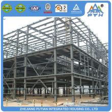 Manufacturer china aluminum alloy window steel construction prefabricated storage warehouse