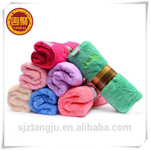 80 polyester 20 polyamide coral fleece microfiber towel, dual plush towel ,kitchen towel