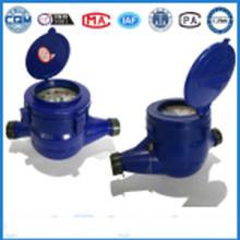 Multi nozzle flowmeter in plastic material