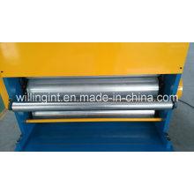 Sublimação de couro em relevo máquina de imprensa