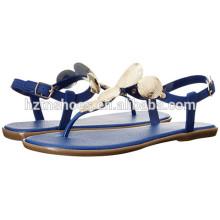 Lady Fashion Flat Summer Sandal 2016 Chaussures plates pour femme New Model Sandals
