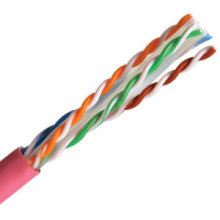 UTP CAT6 High Speed LAN Cable Support Poe 250MHz Pink