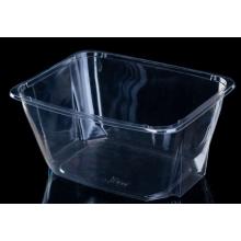 Caixa do empacotamento plástico da fruta do ANIMAL DE ESTIMAÇÃO da salada
