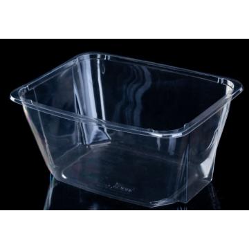 PET Fruit Plastic Packaging Box Of Salad