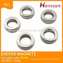 High quality n52 neodymium ring magnet permanent type