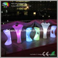Tabourets et tableaux à LED