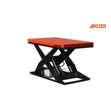 Table élévatrice hydraulique électrique stationnaire de ciseaux