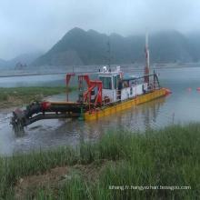 5000cbm/h 24 pouces River Sand dragage Cutter drague suceuse à vendre