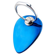 Metal blue ocean heart phone ring bracket