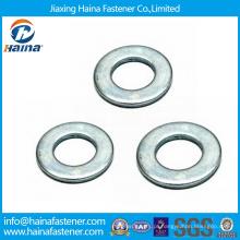 Aço de carbono de alta resistência HDG F436 / Aço inoxidável DIN125 Anilha plana
