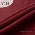 Красная бронзовая трикотажная замшевая ткань 270GSM