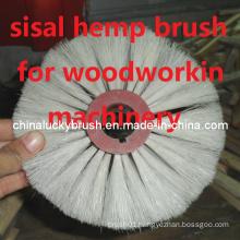 Sisal Hemp Brush for Woodworking Machinery Polishing (YY-334)
