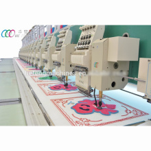 15 Heads Mixed Chenille And Flat Embroidery Machine With Servo Motor