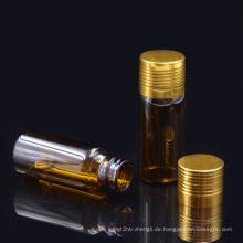 22 * 52 12ml braune Schraube Mund Flasche