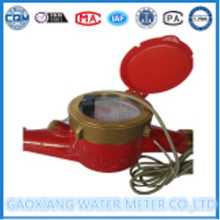 Brass Material Pulse Output Water Meter