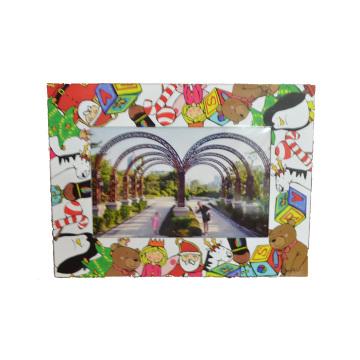 Children′s Christmas Photo Frame, Fridge Magnetic Photo Frame